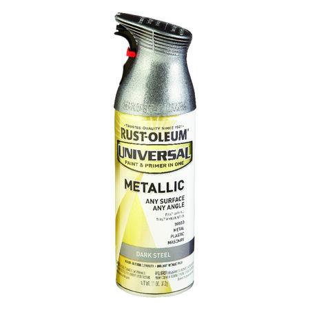 Rust-Oleum Universal Dark Steel Metallic Spray Paint 11 oz.