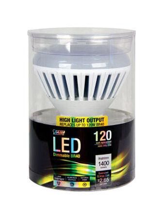 FEIT Electric 22 watts 1400 lumens 2700 K Medium Base (E26) Reflector Soft White LED Bulb BR40
