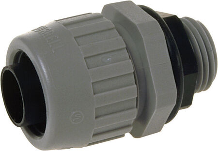 Raco 1/2 in. Dia. Steel Malleable Iron Electrical Conduit Connector For Used on Flexible Metalli