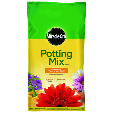 Miracle-Gro Potting Mix Fertilizer Enriched