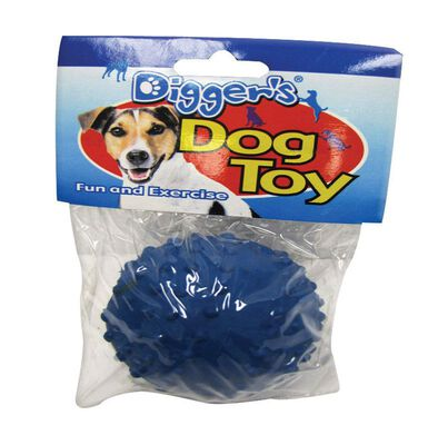 Digger's For Dog Knobby Texture Dimple Ball Dog Toy
