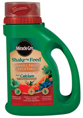 Miracle-Gro Shake 'n Feed Plant Food For Tomatoes Fruits Vegetables 4.5 lb.