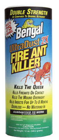 Bengal UltraDust 2X Insect Killer For Fire Ants 12 oz.