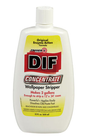 Zinsser DIF Odorless Wallpaper Stripper 22 oz. Liquid