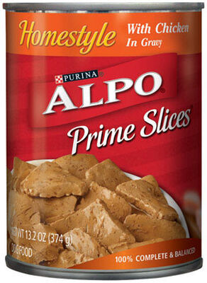 Purina Alpo Prime Classics Adult Chicken Dog Food 13.2 oz.