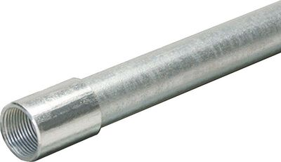 Allied Moulded 1-1/2 in. Dia. x 10 ft. L Electrical Conduit IMC Galvanized Steel