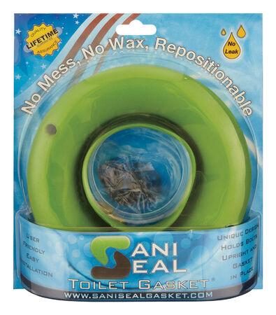 "Sani Seal Toilet Bowl Gasket 3-6/4"" OD 3-1/8"" ID"