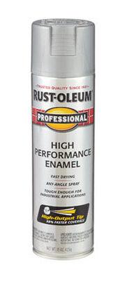 Rust-Oleum Professional Light Machine Gray Gloss Enamel Spray 15 oz.