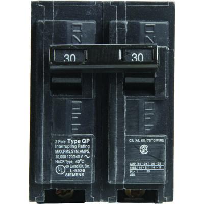 Siemens HomeLine Double Pole 30 amps Circuit Breaker
