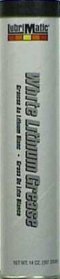 Lubrimatic White Lithium Grease 14 oz. Cartridge
