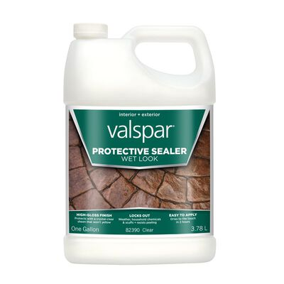 Valspar Transparent Wet Look Sealer High Gloss 1 gal.