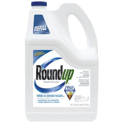 Roundup Refill Weed and Grass Killer 1.25 gal.