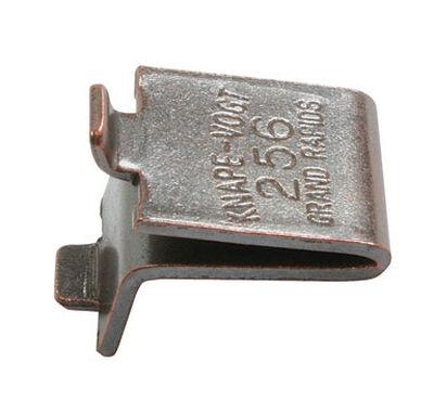 Knape & Vogt Steel Walnut Shelf Support 1 in. L x 0.8 in. W