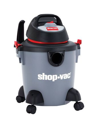 Shop-Vac 5 gal. Corded Wet/Dry Vacuum 2 hp 110 volts Gray
