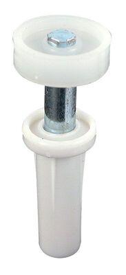 Prime-Line Mill Top mount Guide Wheel White 2 pk