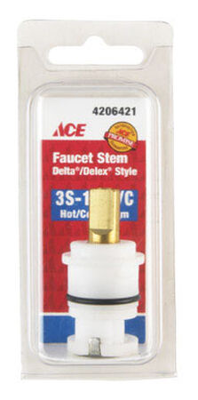 Ace Hot and Cold 3S-11H/C Faucet Stem For Delta