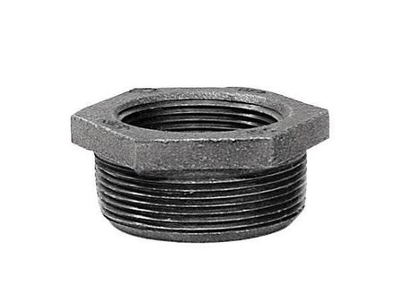 B & K 1-1/4 in. Dia. x 1/2 in. Dia. MPT To FPT Galvanized Malleable Iron Hex Bushing