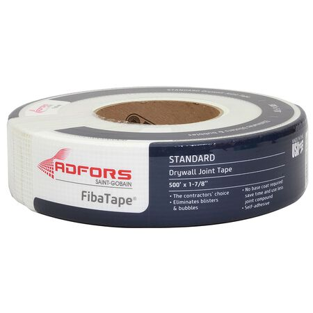 FibaTape Drywall Joint Tape Fiberglass Mesh Self Adhesive 1-7/8 in. W x 500 ft. L