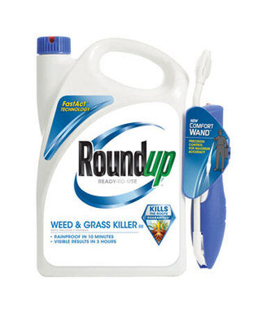 Roundup Comfort Wand Weed and Grass Killer 1.1 gal.