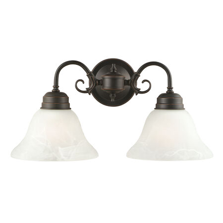 Millbridge 2-Light Wall Mount, Oil Rubbed Bronze #514471