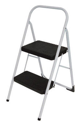 Cosco 200 lb. Steel Two Step Big Step Stool