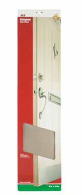 Ace 34 in. L x 8 in. W Brass Door Kickplate 1 pk