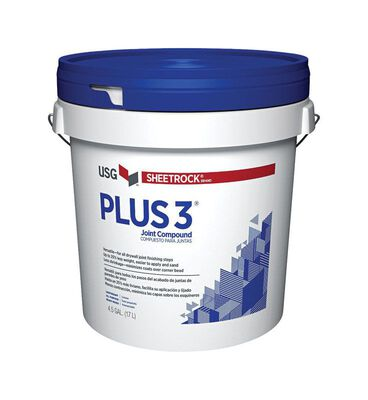 Sheetrock Plus 3 Light Weight Joint Compound 4.5 gal. Sand
