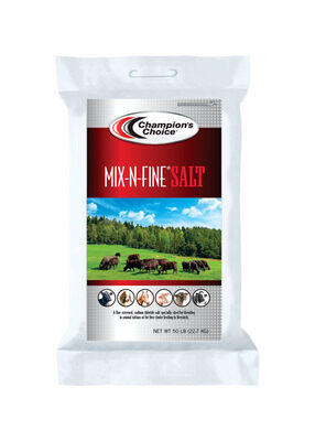Champions Choice Salt 50 lb. Mix-N-Fine Salt
