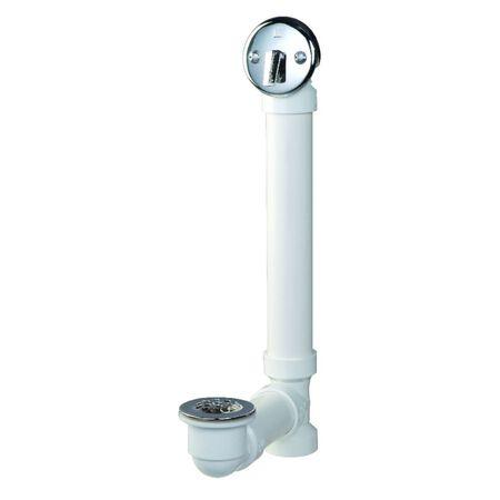 Plumb Pak 1-1/2 in. Dia. Plastic Triplever Bath Drain