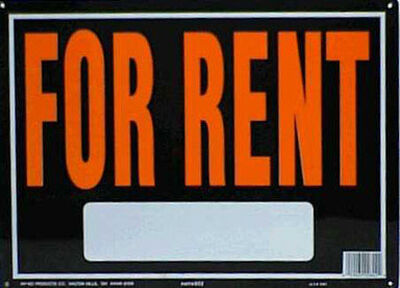 Hy-Ko English 10 in. H x 14 in. W Aluminum Sign For Rent