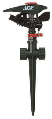 Ace Plastic Spike Impulse Sprinkler 5700 sq. ft.