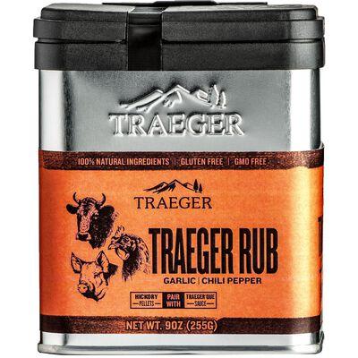 Traeger Garlic and Chili Pepper Seasoning Rub 9 oz.