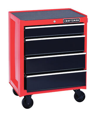 Craftsman 4 drawer Rolling Tool Cabinet 18 in. D x 26-1/2 in. W x 34 in. H