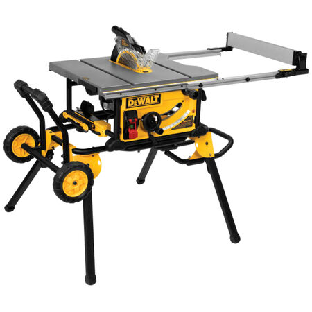 DeWalt Corded Table Saw with Stand 15 amps