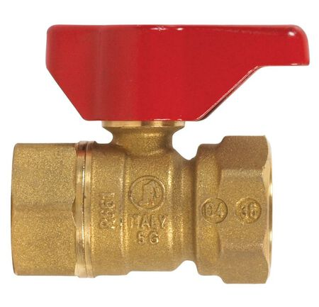 B & K Gas Ball Valve 3/4 in. FPT Brass Two Piece