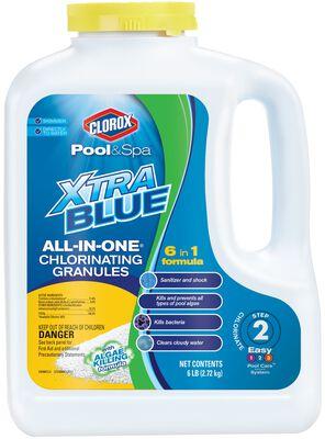 Clorox XtraBlue All-in-One Chl