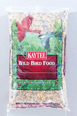 Kaytee Basic Blend Assorted Species Wild Bird Food Millet and Milo 10 lb.