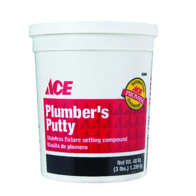 Ace 3 lb. Plumbers Putty