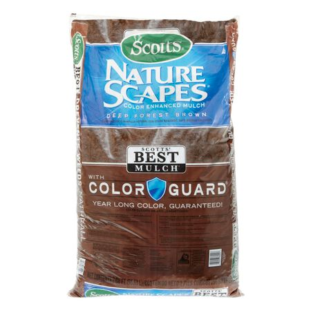 Scotts Nature Scapes Wood Mulch Deep Forest Brown 2 cu. ft. 2 sq. ft.