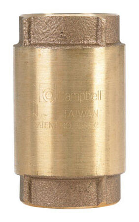 Campbell Red Brass Check Valve