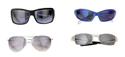 Diamond Visions Assorted Sunglasses Plastic 1 pk