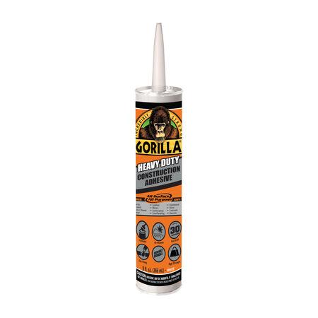 Gorilla All Purpose Construction Adhesive 9 oz.