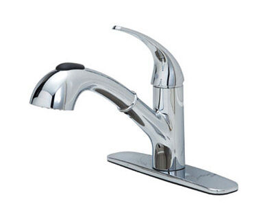 OakBrook Washerless Cartridge One Handle Chrome Kitchen Faucet
