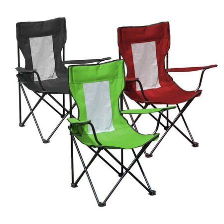 Quik Shade Quad Folding Chair Assorted Colors