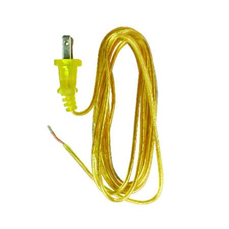 Jandorf Lamp Cord Gold 8 ft. L 1 pk