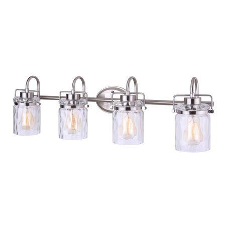 Light CA Vanity Arden 4lt BN