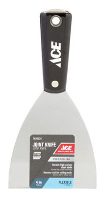 Ace 4 in. W High Carbon Steel Joint Knife Flexible
