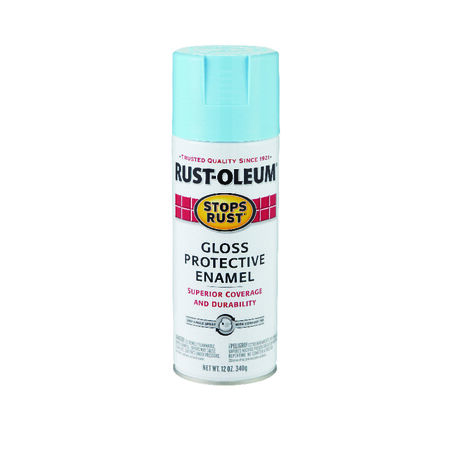 Rust-Oleum Stops Rust Harbor Blue Gloss Protective Enamel Spray 12 oz.