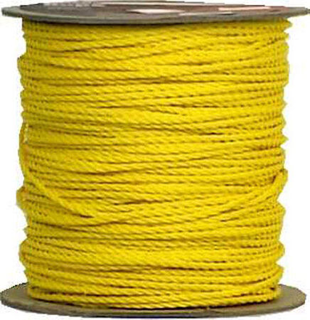 Wellington 1/4 in. Dia. x 1200 ft. L Twisted Poly Rope Orange