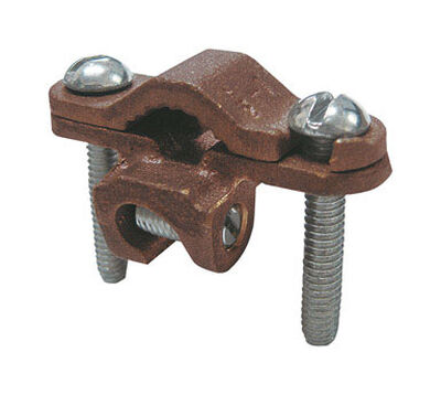 Sigma 1 in. Bronze Ground Clamp 1 pk